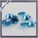 Star Twinkling Swiss Blue Brilliant Cut Favorable Price CZ