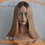 Beautiful Wig Selling Blonde Humen Skin Silk Top Jewish Wig