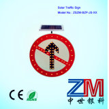 Aluminium Solar Powered LED Traffic Sign