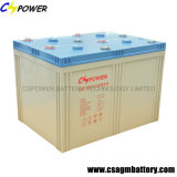 Rechargeable Power AGM Battery 2V2000ah with 3 Years Warranty