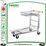 Heavy Duty Metal Warehouse Trolley