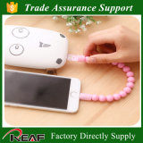 Fashion USB Beads Bracelet Charger Portable Ring Mini Wrist Cable Bracelet Data Cable