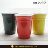3 Kinds of Porcelain Mugs for Decoration in Restaurant