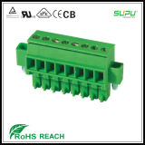 3.5/3.81mm Pitch 0.2-1.5mm2 Female Terminal Connector with Screw