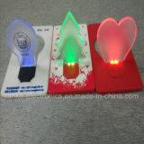 Promotional Pocket Card LED Night Light with Logo Print (4017)