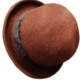 Women Bowler Vintage Cloche Wool Felt Hat /Fedora Hat