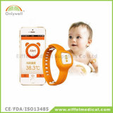 Digital Bluetooth Wireless Smart Baby Watch Thermometer