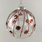 Christmas Decoration with Glass Balll (LCP-A-0006)