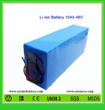 Rechargeable Battery Pack 48V 10ah Li-ion Battery for Electric Bikes (EA48-10)