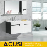 Wall Mounted Lacquer Modern Bathroom Vanity Cabinet with Shelf (ACS1-L29)