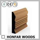 Eco-Friendly Solid Wood Skirting Board for Decoration