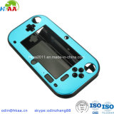 Custom OEM CNC Milling Blue Anodized Aluminum Game Pad