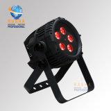 New 5PCS*15W 5in1 Rgbaw IP65 Waterproof LED PAR Light for Outdoor Stage Light