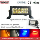 52inch Offroad Dual Color LED Light Bar Amber, Blue Light