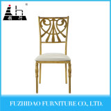 White Stainless Steel Dining Room Chair with High Quality