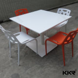 Wholesale Solid Surface Fast Food Furniture Dining Table with Chair
