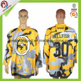 Quick Dry Adult Mens Reversible Sublimation Ice Hockey Jerseys