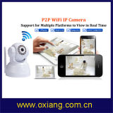300k Pixels 720p HD P2p Onvif PTZ WiFi IP Camera
