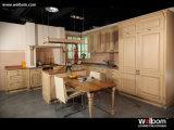 Welbom Customized Design Oak Solid Wood Kitchen Furniture