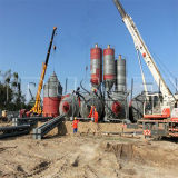 Small Steel Silo for Sale 50 Ton Cement Silo Used in Concrete Mixing Plant