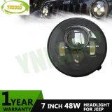 7inch 48W Round Hi/Low Beam Jk Headlight Offroad Light