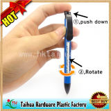 Promotion Button Plastic Pen, Rotate Advertising Pen (TH08041)