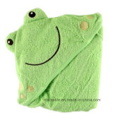 Low Price of Baby Hooded Towel with Embroidery