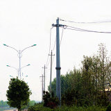 10 Kv Monopole Tower Power Transmission