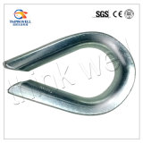 G411 Us Type Galvanized Steel Wire Rope Thimble