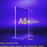 A5 Transparent Acrylic Sign Holder