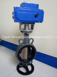Wafer Butterfly Valve with Viton Seat Electrical Actuator