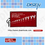12-Piece (6-32mm) Open End Wrench Mirror Polished