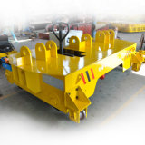 5t Hydraulic Driven Rail Transfer Cart with Scissor Lifting Table
