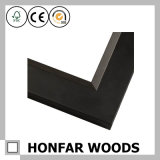 New Modern Black Wood Picture Frame Moulding