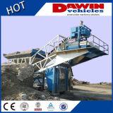 25m3 35m3 50m3 60m3 Mobile Batch Plant for Sale, Ready Mix Concrete Batch Plant