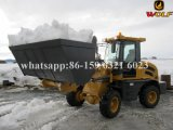 Construction Equipment Zl12 Mini Radlader with Snow Buket in Finland