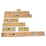 Wooden Pinyin Domino