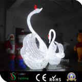 Outdoor Decoration Christmas Yard Decorations Acrylic Lighted Swan