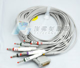 Btl 10 Leads ECG Btl-08 S, M, L Series, EKG Cable