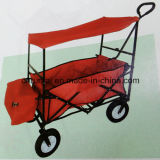 Colorful Folding Tool Cart with Awning