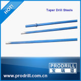 Taper 7, 11, 12 Degree Hexagonal 22*108mm Taper Drill Rods