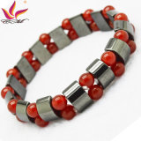 Htb090 Fashion Bracelet High Quality Handmade Hematite Bead Jewelry