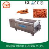 Brush Type Root Carrot Vegetable Washing Peeling Machine