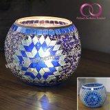Fashion Mosaic Glass Tealight Candle Holder Home Decor