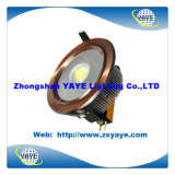 Yaye Top Sell 20W LED Down Lamp / COB 20W LED Down Lamp with 2400lm