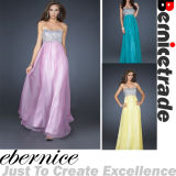 New Arrival Sequins Long Strapless Bridesmaid Dress (D04)