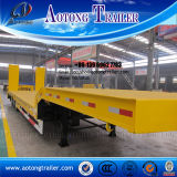 Excavator Transport Lowbed Semi Trailer for Sale
