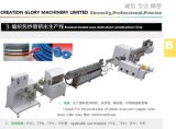 High Precision Braided Reinforced Pressure Tubing Plastic Extruding Machinery
