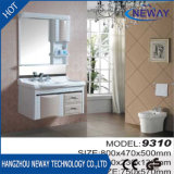 Wall-Mounted Waterproof Acrylic Solid Wood PVC Bathroom Cabinet