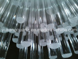 No Bubble/Airline/Black Core Clear Quartz Rod